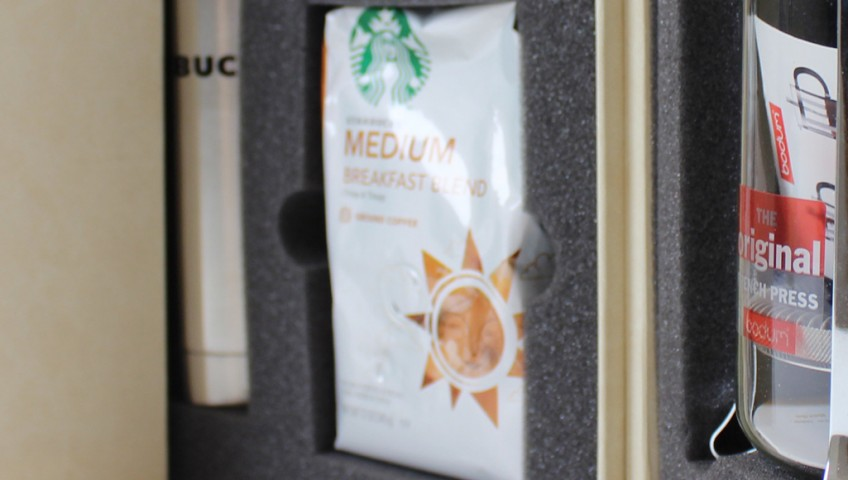 Iconic product packaging design, like Starbucks, appeals to customer senses