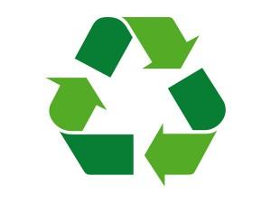 Green Recycling Symbol