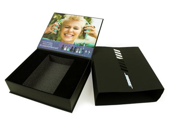 Custom Turned Edge Cigar Style Box