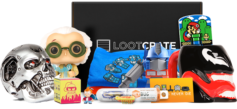 loot crate subscription box contents